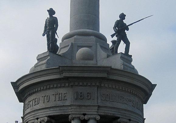 Civil War Memorial Monuments Pennsylvania