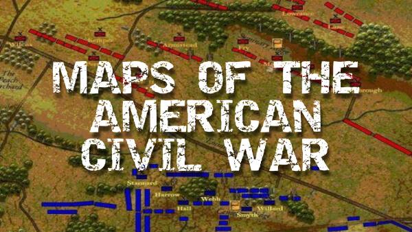 Maps of the American Civil War